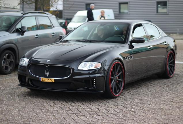Maserati Quattroporte Black Bison Edition