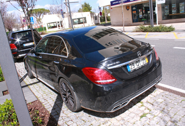 Mercedes-AMG C 63 S W205