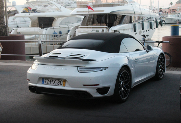 Porsche 991 Turbo S Cabriolet