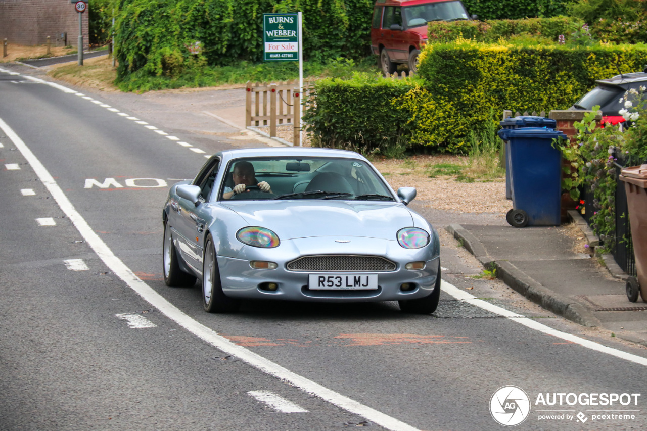 The Legend of the 1999 Aston Martin DB7