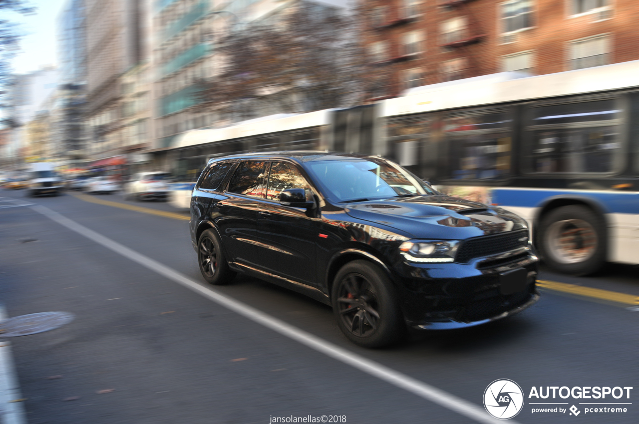 dodge durango srt 2018 9 december 2018 autogespot. Black Bedroom Furniture Sets. Home Design Ideas