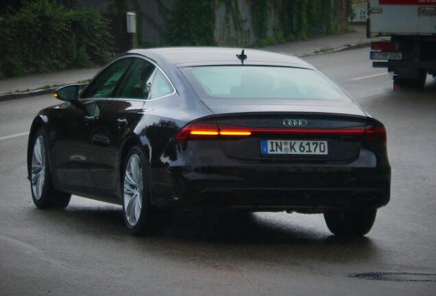 Audi S7 Mule